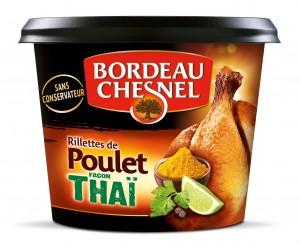 Une nouvelle saveur : poulet thaï