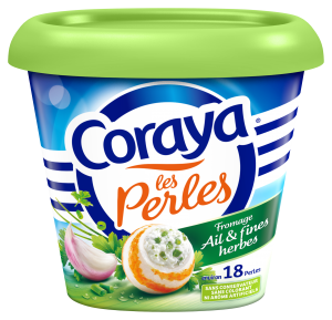 Plus de saveurs grâce à l'ail et aux fines herbes dans Coraya
