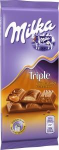 Une délicieuse nouvelle Milka au caramel