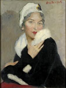 Portrait de Marie Jeanne à l'hermine (1935)