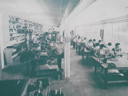 Les ateliers de fabrication d'hameçons