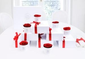 Les élégantes boîtes livrées chez vous ou au bureau