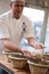 Préparation de la pâte au Cordon Bleu