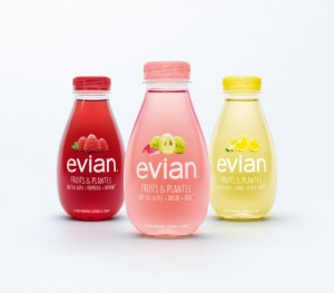Etrange et sucré pour Evian
