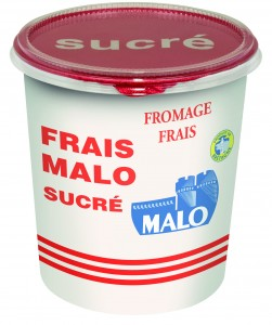Un fromage blanc au format XXL chez Malo