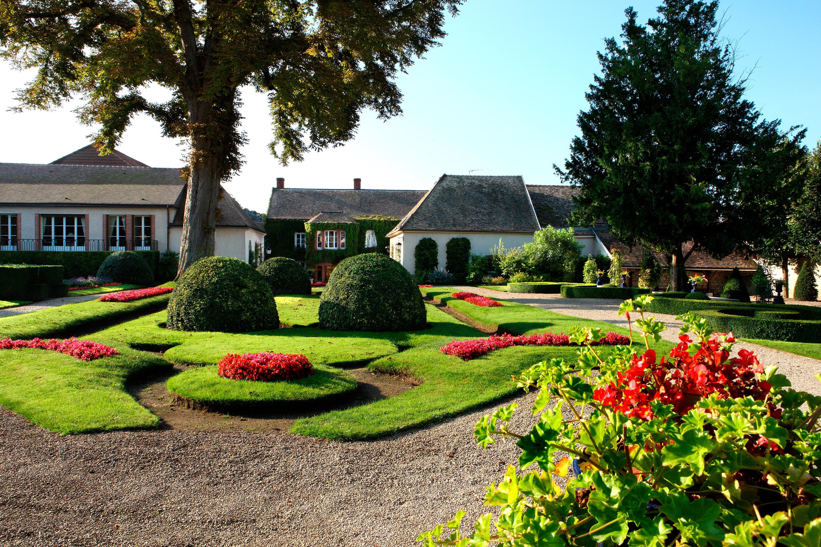 Classicisme d'un jardin dit 'àl a française'