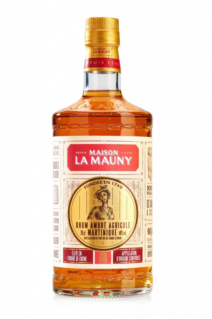 Le rhum ambré agricole de La Mauny