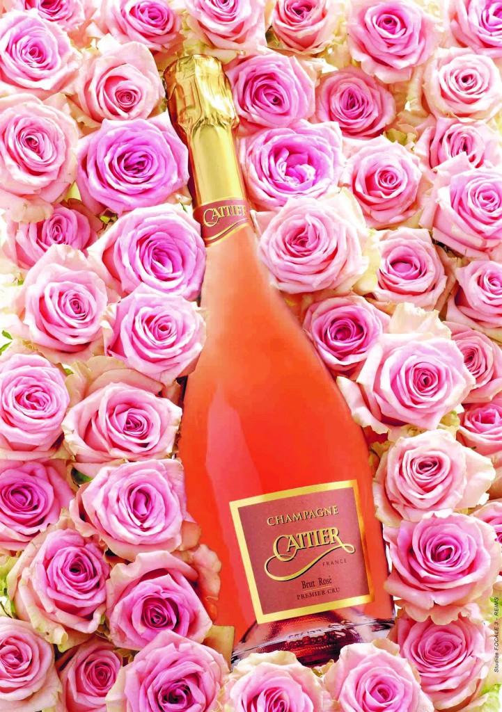 Le beau 1 er cru rosé de Cattier