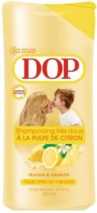 Shampooing à la pulpe de citron de Dop