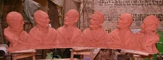 Monet, Adenauer, Shuman : certains des pères fondateurs de l'Europe