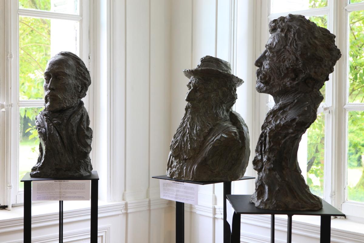 Bustes en bronze pour Normandie Impressionniste
