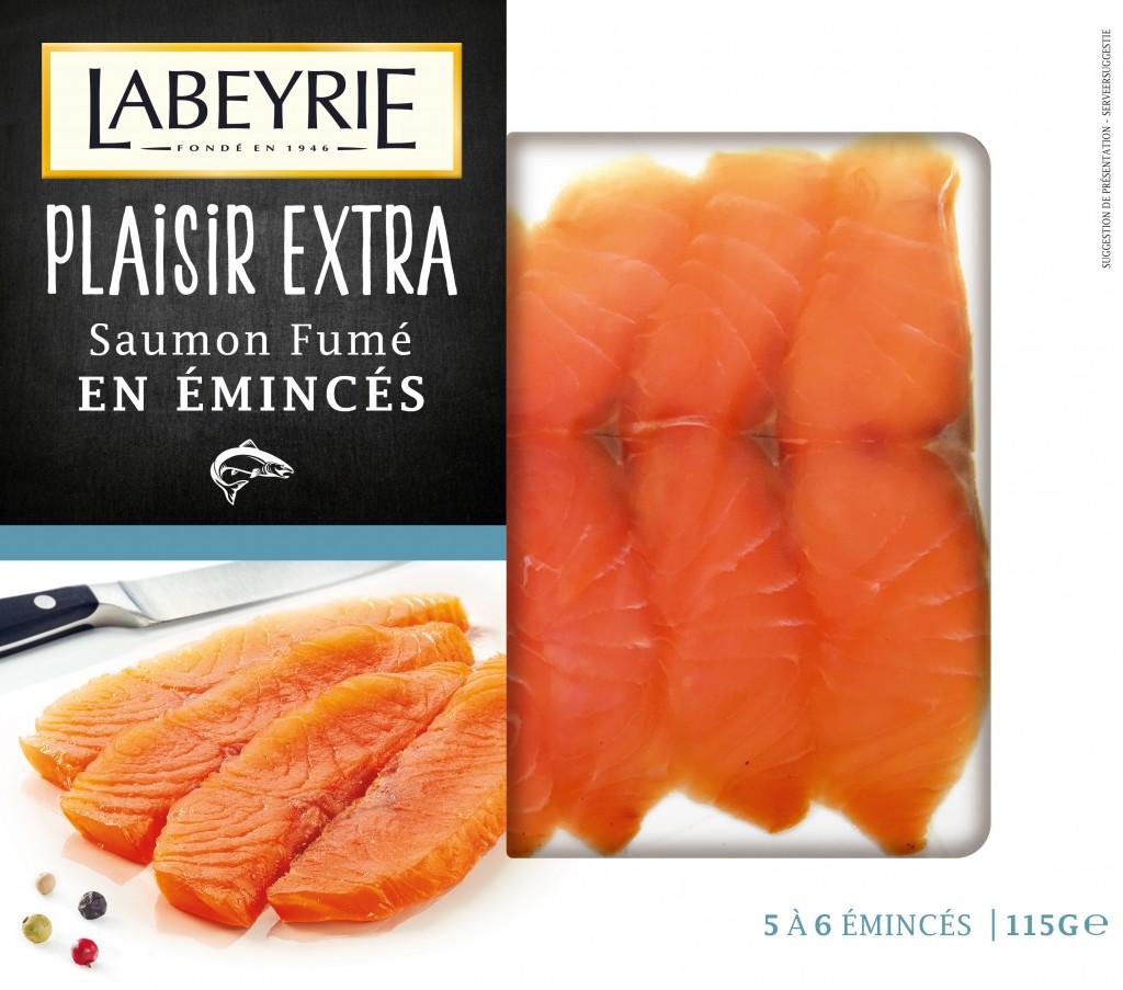 Le saumon épais et gouteux de Labeyrie