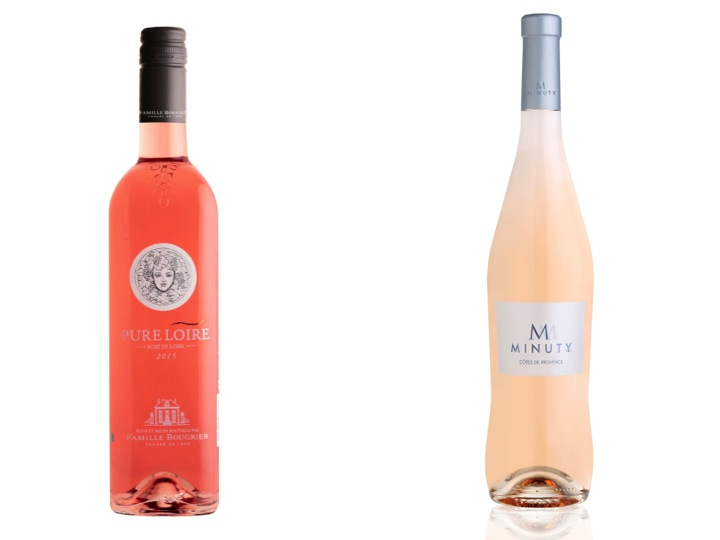 Région Provence ou Anjou pour du rosé