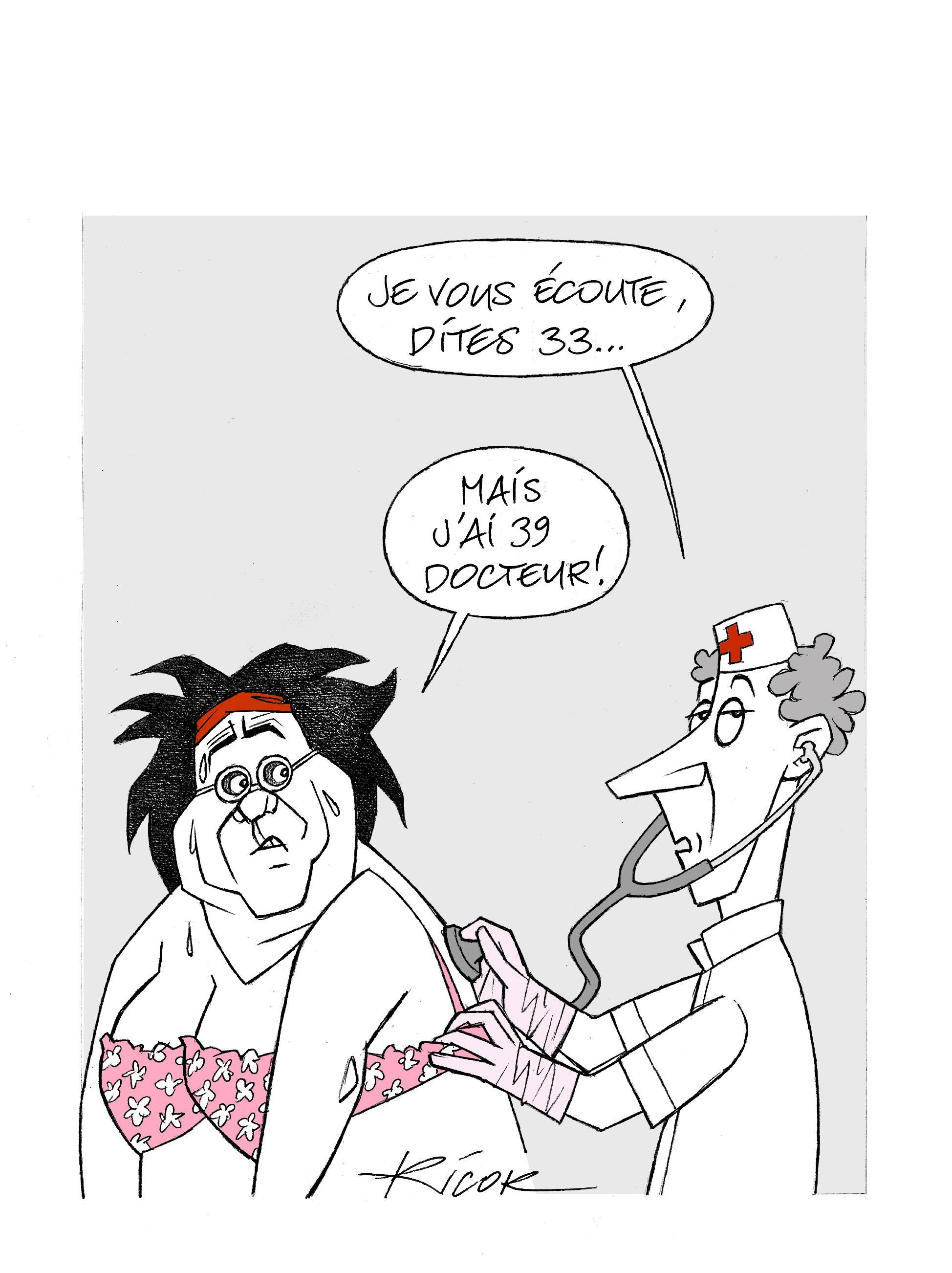Un des dessins humoristiques