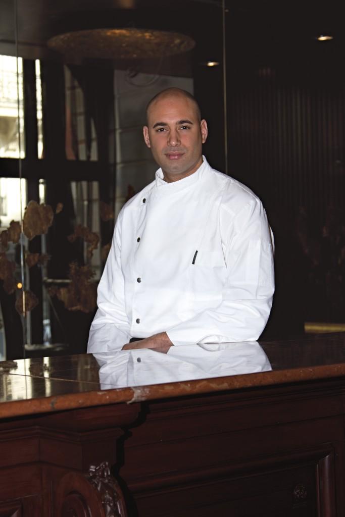 Romain Roland est à la tête des cuisines
