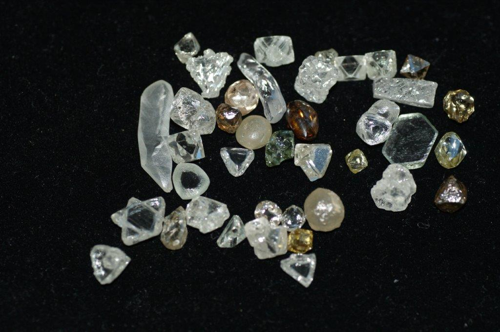 Diamants taillés