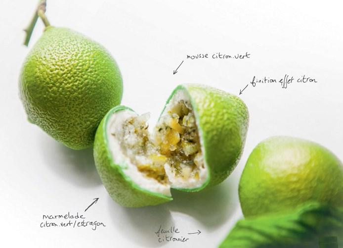 La magie du citron de Grolet du Meurice