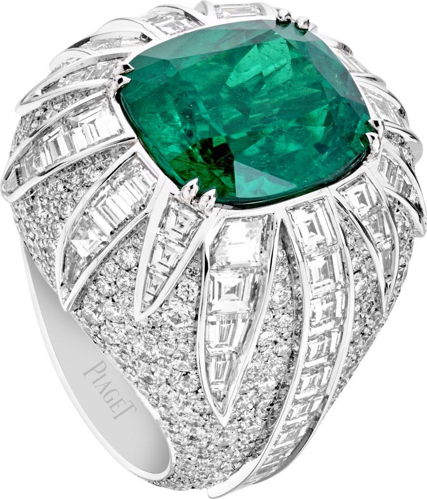 Emeraude et diamants par Piaget