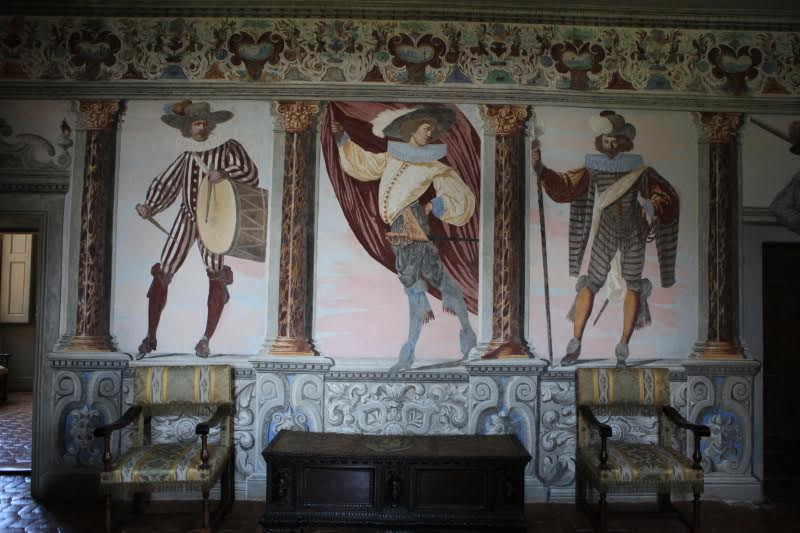 Fresques de Pietro Ricchi