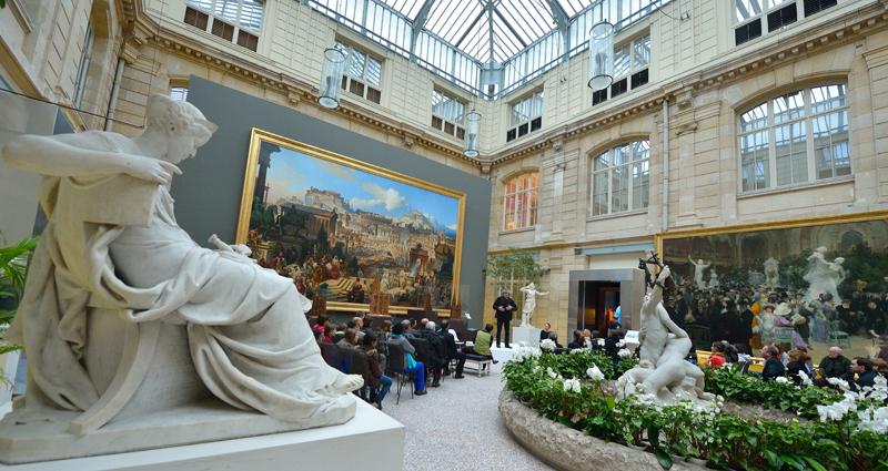 Le Jardin des Sculptures du Musée des beaux arts et son café restaurant