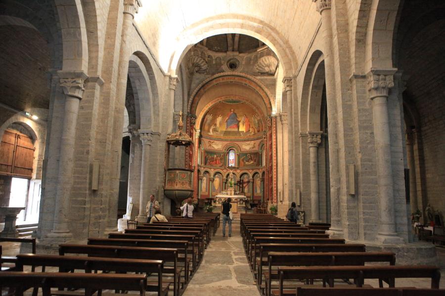 Intérieur de la cathédrale Ste Marie