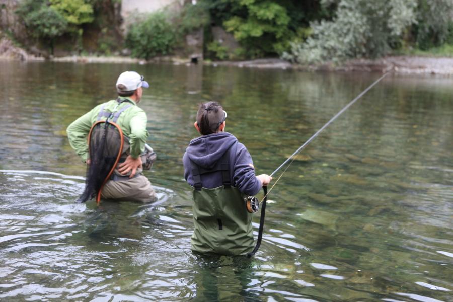 Lionel Armand organise des stages de pêche