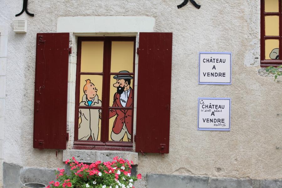Hergé s'est inspiré de la propriété pour ses célèbres bandes dessinées et la maison du capitaine Haddock