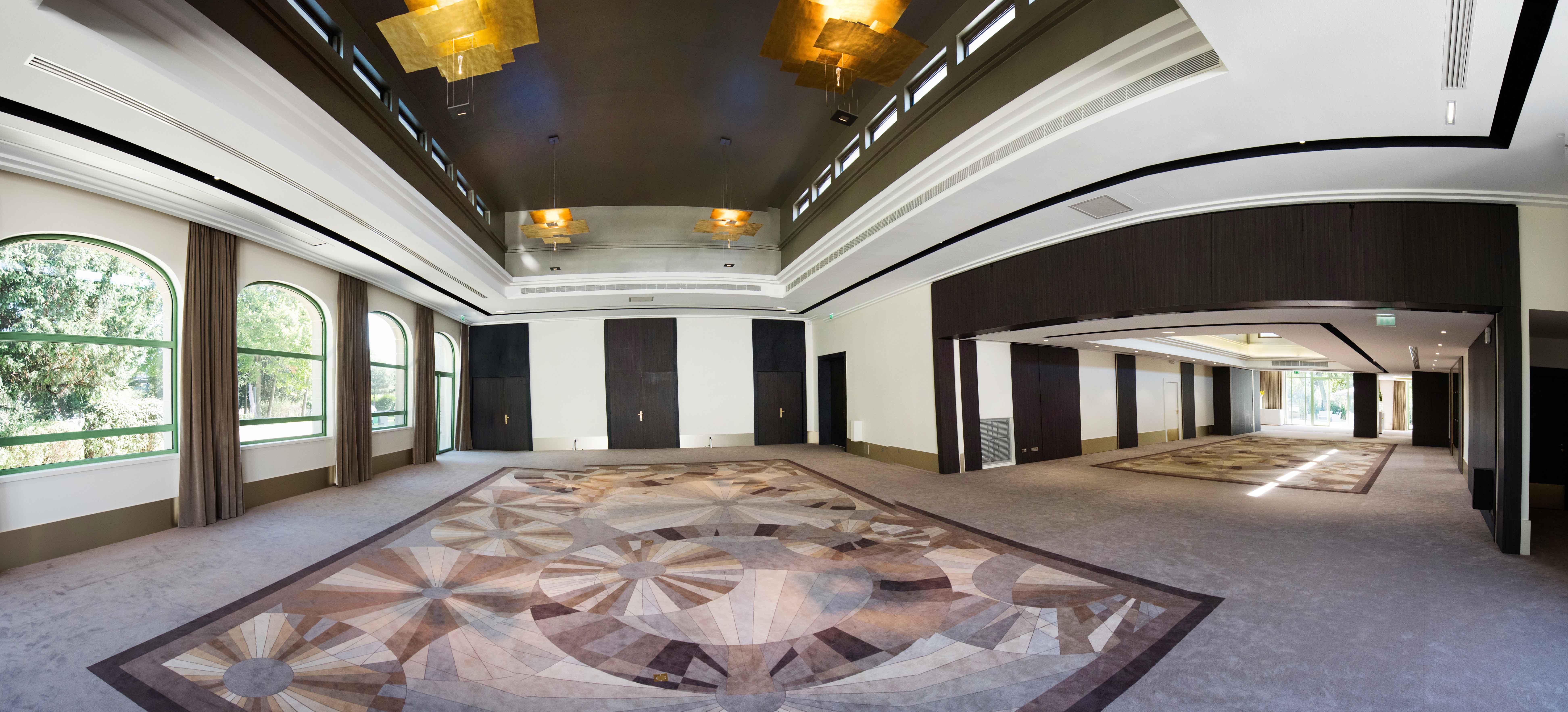Deux salons très contemporains créés par le cabinet Béchu & Associés