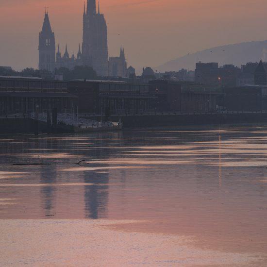La lumière à Rouen a inspiré les impressionnistes