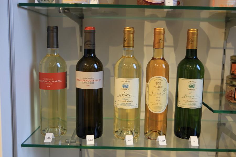 Quelques bouteilles du Jurançon