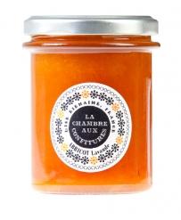 Abricot et lavande, une des confitures de La Chambre aux Confitures