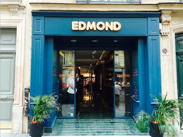 La façade de la supérette Edmond