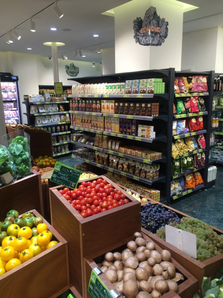 Fruits et rayons tous bio