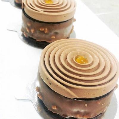 La goutte d'or , dessert signature au chocolat : Whaouh !!