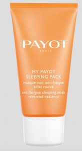 La marque d'institut Payot a aussi son sleeping mask