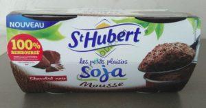 La 1 ère mousse de soja chez St Hubert