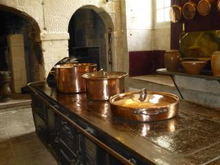 Les cuisines du château