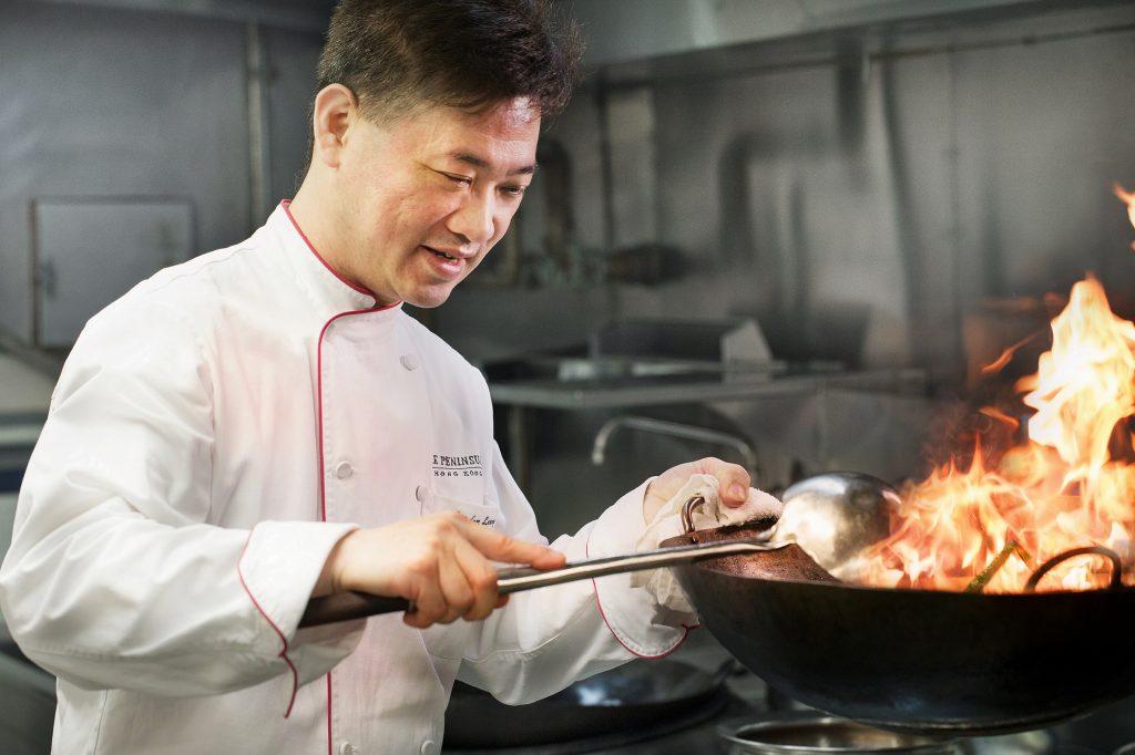 Le chef exécutif Gordon Leung