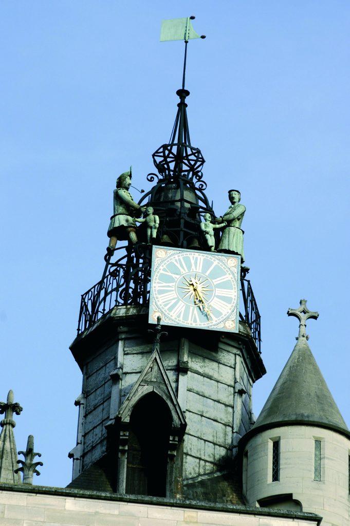 L'horloge des Jacquemart