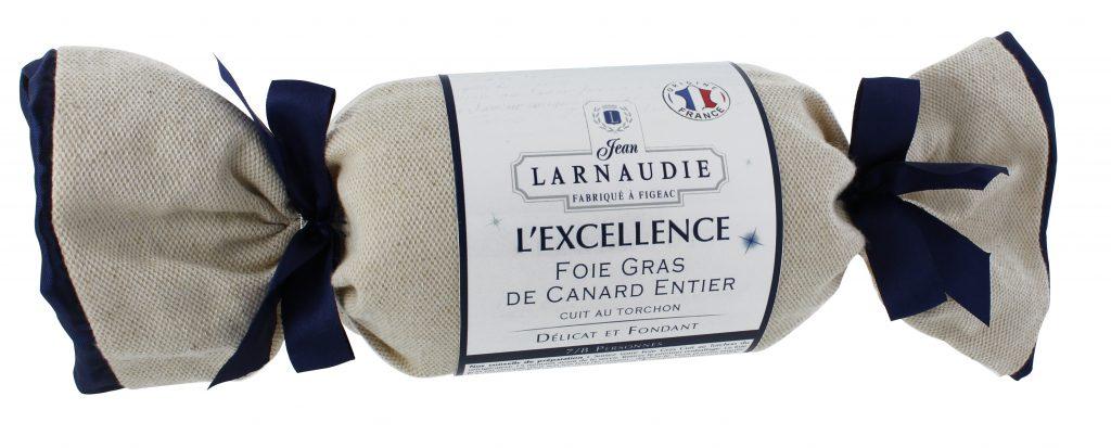 Larnaudie en torchon pour son foie gras premium
