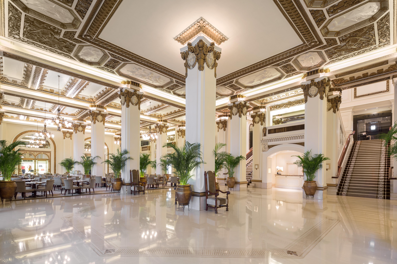 Le lobby Art Déco