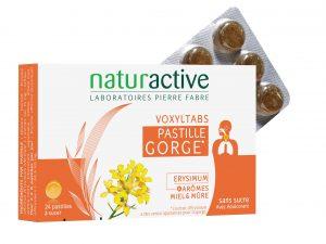 Naturactive contre les maux de gorge