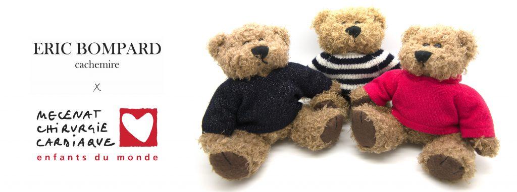 Les Hoody, Navy et Glitter Bears