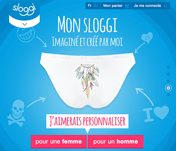 Un e-shop de culottes customisables