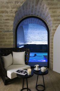 Tisanes, eaux détox sont offerts au spa