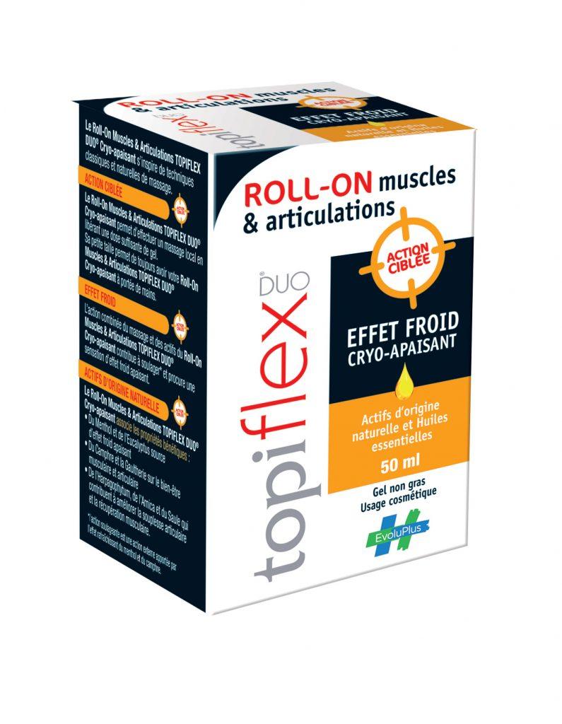 Topiflex pour lutter contre les douleurs des muscles et des articulations