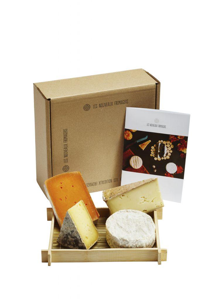 Une box de fromages livrée chez vous