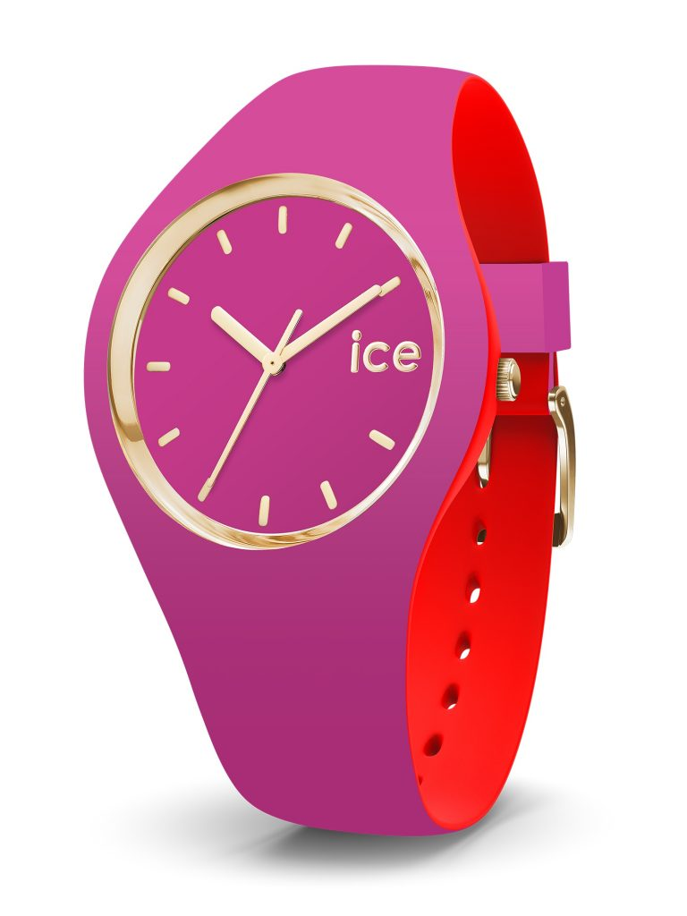 Un bracelet fun pour le modèle Loulou d'Ice Watch
